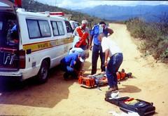 Gleitschirm-Absturz in Südafrika - Der Sanka ist da
