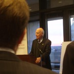 Senator Leahy speaks at: Kickoff Reception & Tech Demo Exhibition