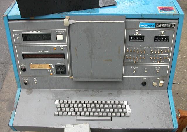 Compugraphic Compuwriter