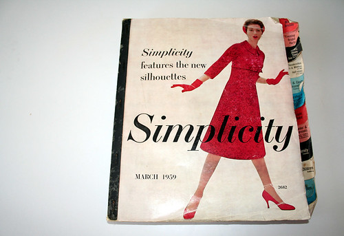 Simplicity Pattern Catalogue - March 1959