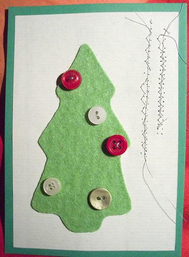 manualidades de fieltro de navidad