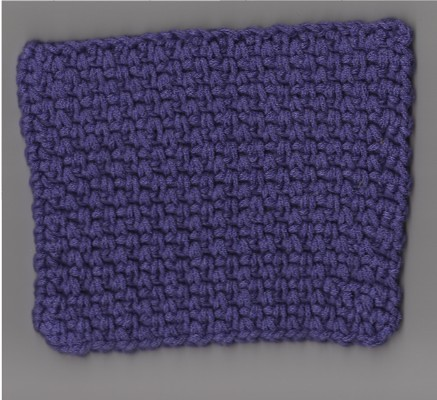 Crochet Linen Stitch : Crocheted linen stitch