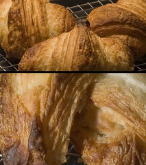 baking, baked goods, bakery, food, dish, danish pastry, croissant,