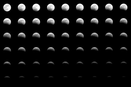 The Lunar Eclipse by Pete Ashton