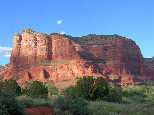 Sedona Light on Courthouse Butte