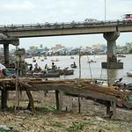 Pier at Cai Rang - Mekong Delta, Vietnam