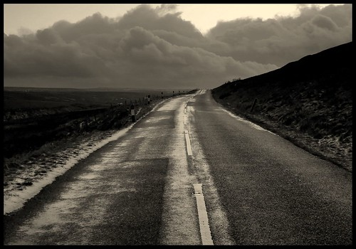 "England, Yorkshire, moor dal libro ""Cime tempestose 