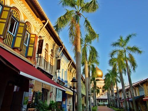 Bussorah Steet - Kampong Glam - Singapore