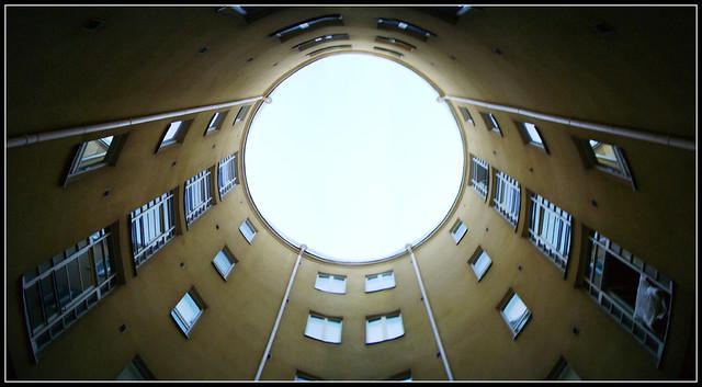 Round courtyard