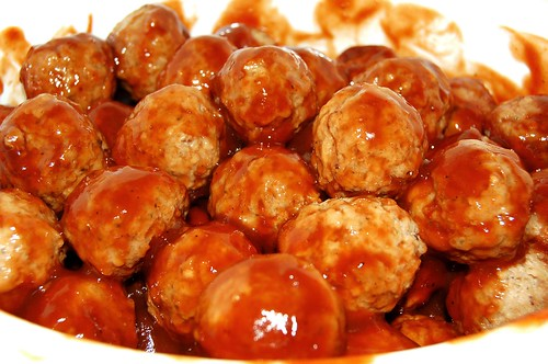Meatballs Cooking
