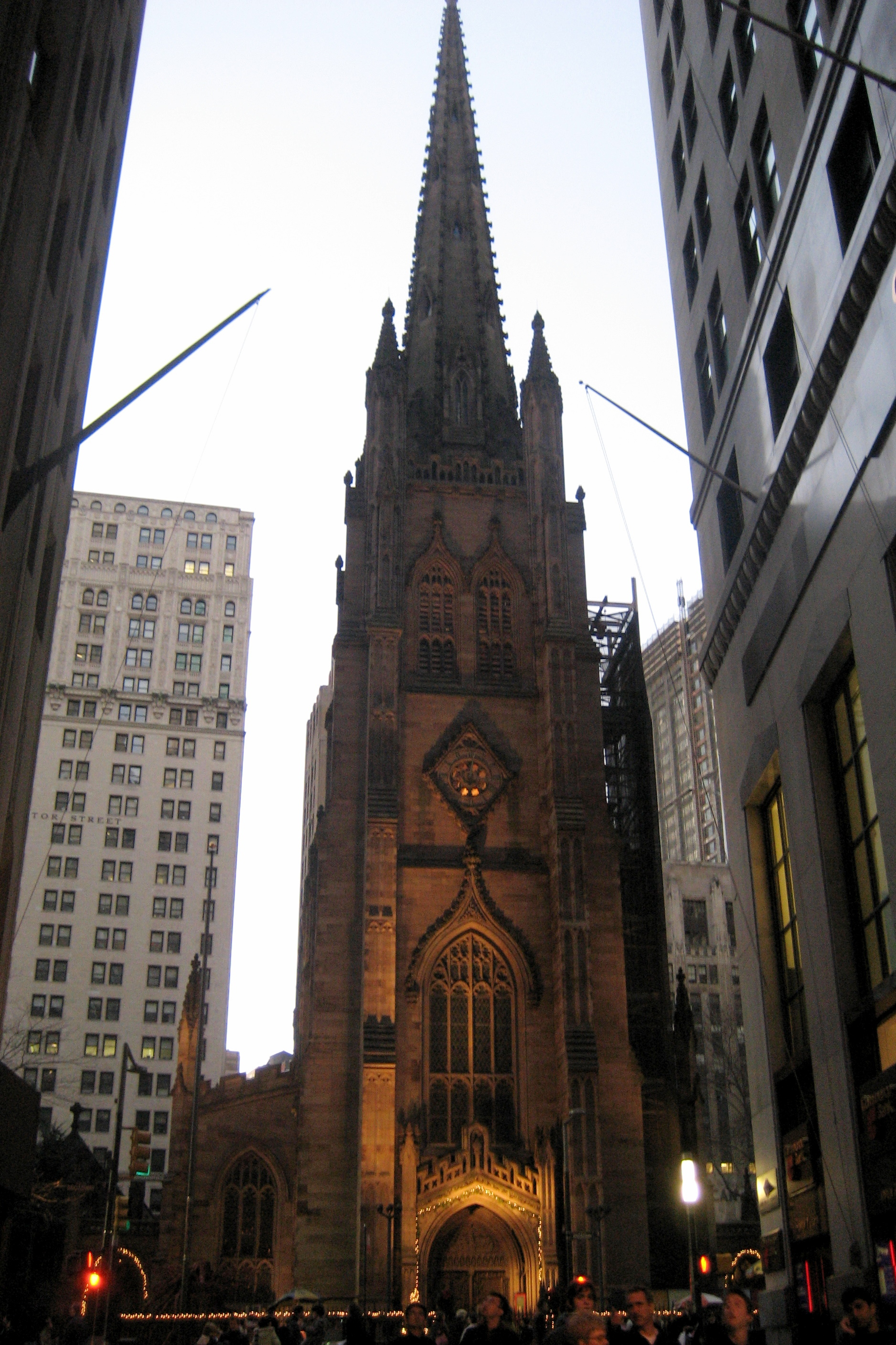 Nyc Fidi Trinity Church Flickr Photo Sharing