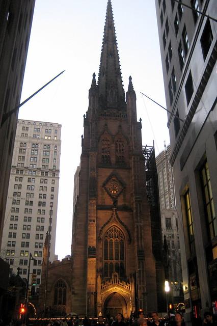 Nyc Fidi Trinity Church Flickr Photo Sharing