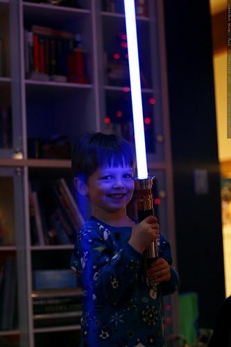 jedi nick and his new light saber    MG 7457
