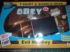 have an evil monkey christmas