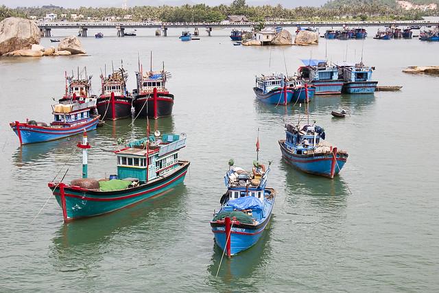 Fishing Boats of Nha Trang