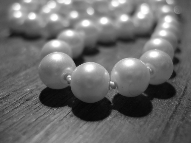 Black and White Pearls | Flickr - Photo Sharing!
