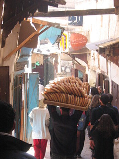 Al interior de la Medina de Fez