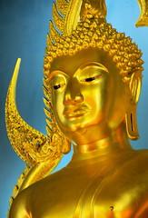 the Benchamabophit buddha