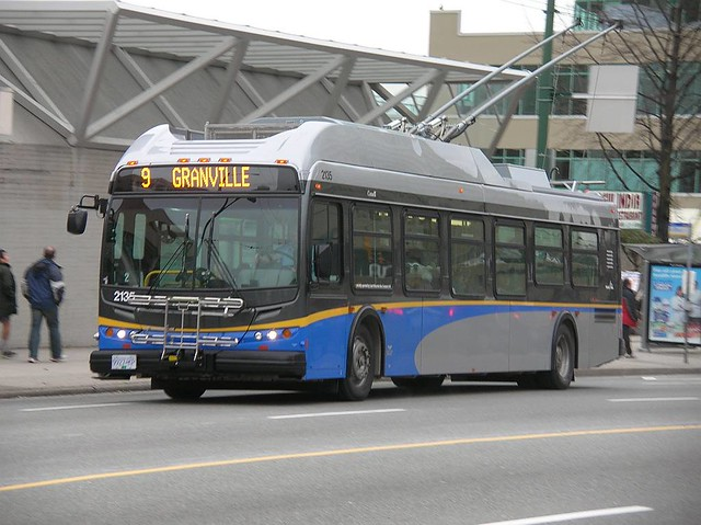 Translink 2135 on wb 9 Broadway Vancouver BC 2007_0108