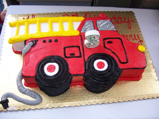 Firefighter Birthday Cake Ideas