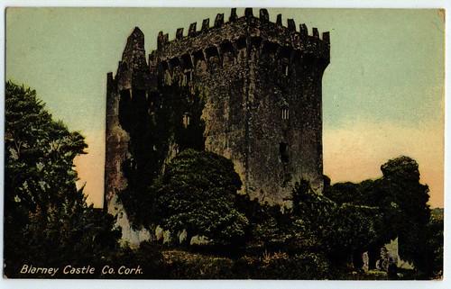Blarney Castle, Co Cork, pub by Lawrence of Dublin, 1905-1915