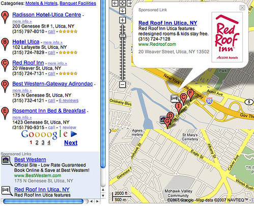 Red Roof Inn Location Map Google Maps Ad Red Roof Inn   searchengineland.com/070202 10…   Flickr