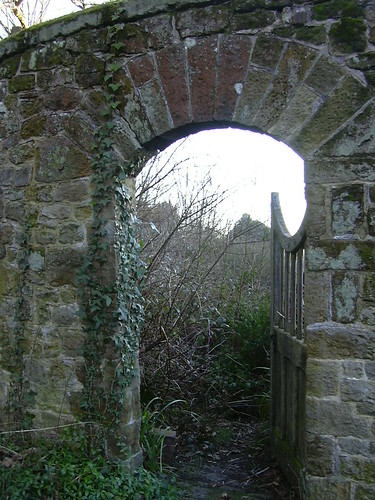 Secret Garden Gate Open This Gateway Reminded Me Of The