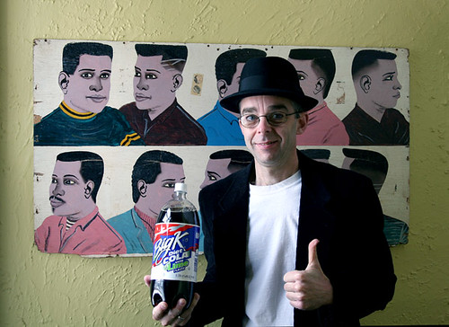 Joey endorses Big K diet cola with lime