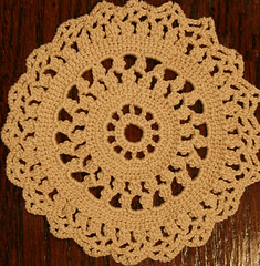 pattern, textile, needlework, doily, crochet, circle,