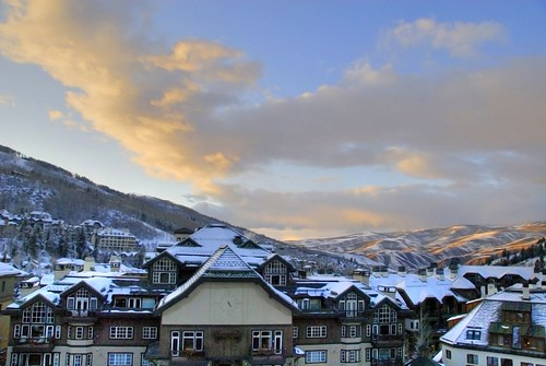 Early evening in Beaver Creek