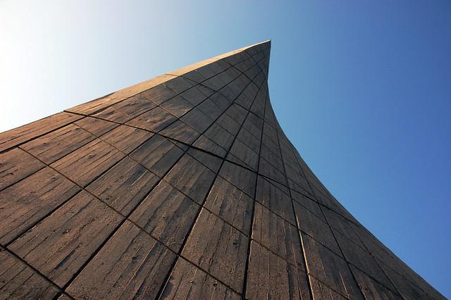Wakodonohiroba, Awaji. Japón. Monumento conmemorativo a los estudiantes fallecidos en la guerra.