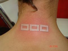 white ink tattoo (Dejavu Tattoo Studio Chiangmai Thailand)