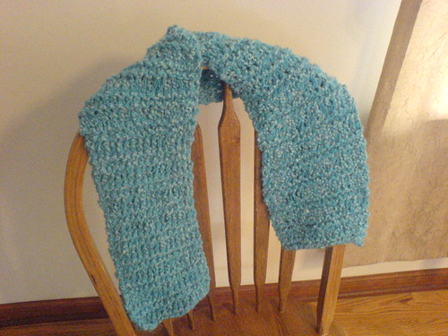 Grandma's Knitted Scarf