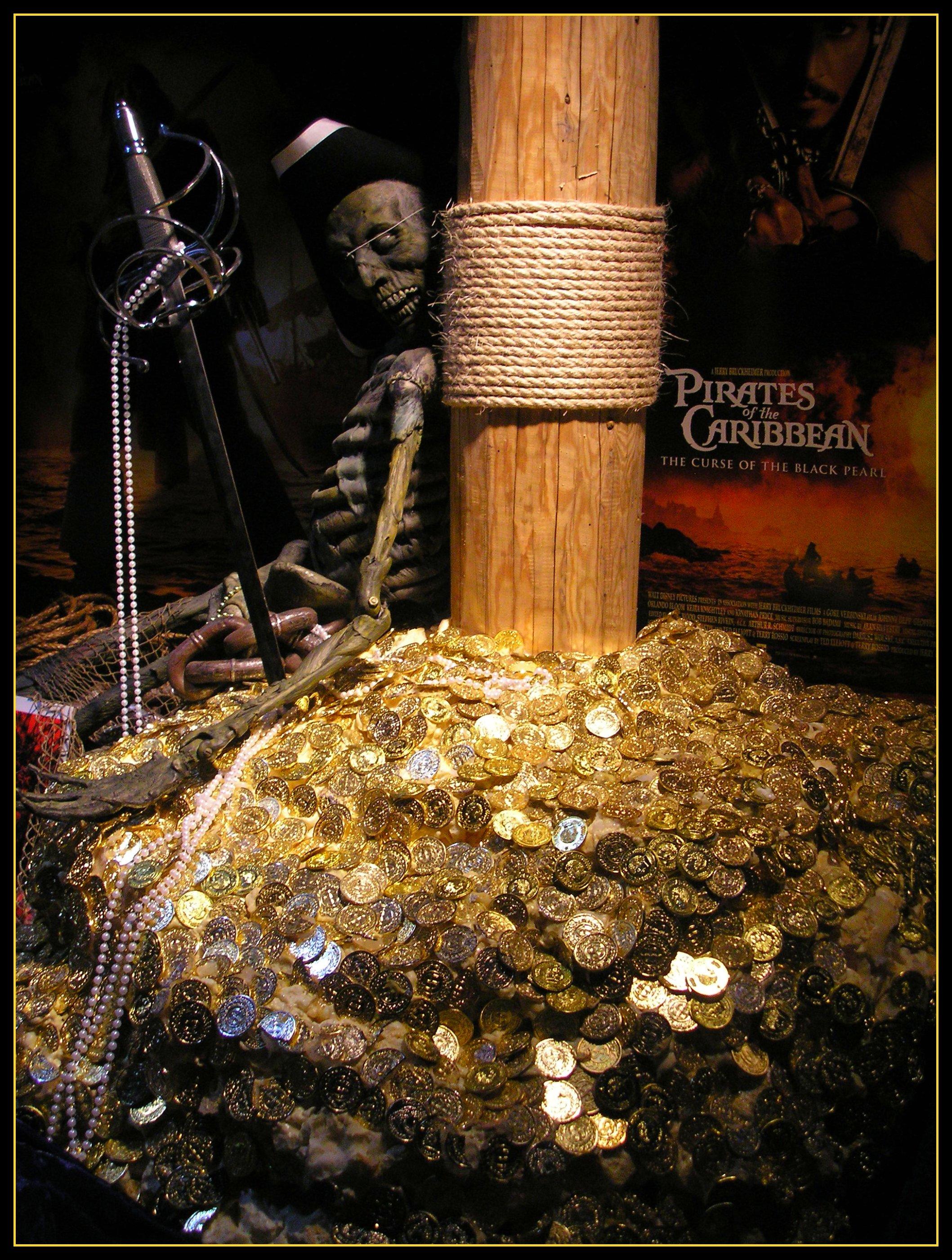 Pirate Caribbean Hunt Treasure Island