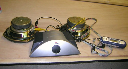 T-amp and speaker drivers