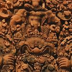Engraved Art - Angkor, Cambodia