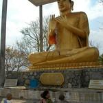Buddhist Statue at Phnom Sampeau - Battambang, Cambodia