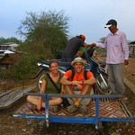 Bamboo Train - Battambang, Cambodia
