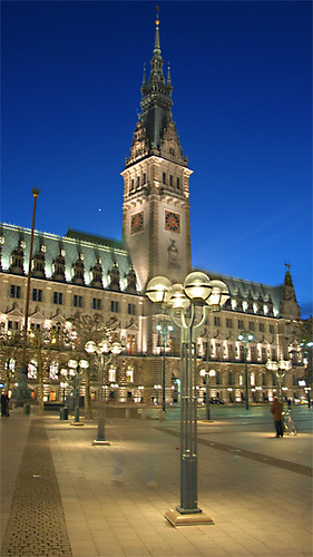 Rathaus Hamburg / City-Hall Hamburg