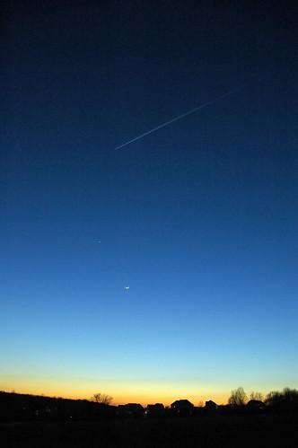 sunset mars moon landscape laytonsville
