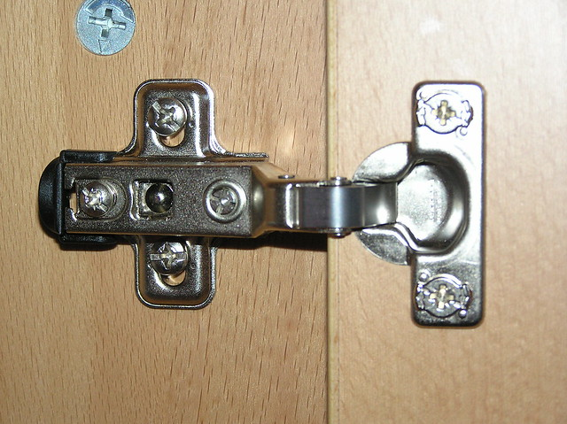 Our Kitchen Cabinet Is Now Assembled This Hinge In The Ike Flickr Photo Sharing