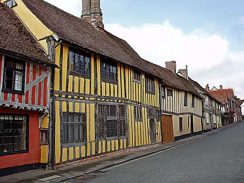 Old Houses in Lavenham