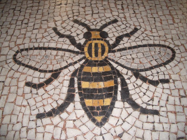 Busy Manchester Mosaic Bee Flickr Photo Sharing