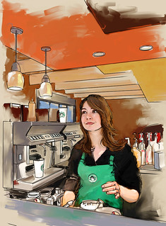 Veronica the Barista