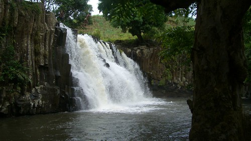 Rochester Falls in Souillac, Mauritius. Photo via http://www.flickr.com/photos/canolais/ CC by SA