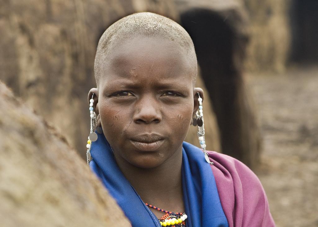 Masai Woman near Ngorongoro Crater