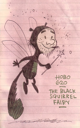 620 The Black Squirrel Fairy
