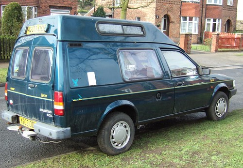AUSTIN MAESTRO 500 with camper van conversion