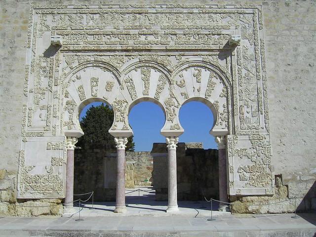 Entrada al Palacio en Medina Azahara