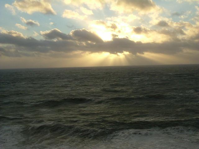 Sunset, Porthleven, Lizard, Cornwall, Fujifilm FinePix A405